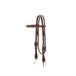 Weaver Leather Working Tack Chevron Designer Hardware Straight Browband Headstall