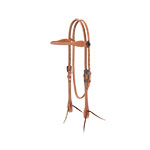 Weaver Leather Rambler Browband Headstall, Russet