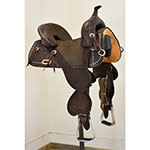 """New! 14.5"""" Circle Y Tammy Fisher Remuda Treeless Barrel Racing Saddle(Estimated Delivery 7/7/2018)"""