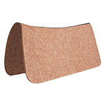 "Mustang Tan 1/2"" Contour Wool Saddle Pad 30"" x 30"""