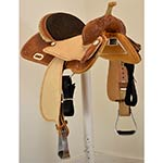 "New! 14"" Circle Y Saddlery Frio Barrel Racing Saddle"