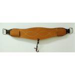 "Courts Saddlery 6"" Leather Back Cinch"
