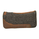 Weaver Leather Synergy Contoured EVA Sport Foam Wool Blend Felt Saddle Pad With Merino Wool Fleece
