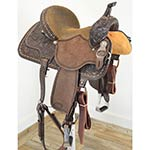 "New! 13.5"" Molly Powell Vinatge Cowgirl Barrel Racer by Reinsman"