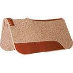 """Mustang Manufacturing 3/4"""" Contoured Tan Wool Pad 27"""" X 27"""""""