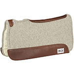 Tan Iconoclast Saddle Pad with Fleece Bottom