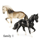 Breyer Stablemate Mare and Stallion Mystery Foal