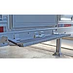 Fold Up Aluminum Step for Trailers