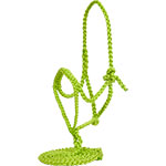 Mustang Manufacture Lime Green Braided Halter