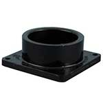 1 1/2 inch Hub Sewer Waste Valve Flanged Fitting