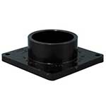 1 1/2 inch Sewer Waste Valve Flanged Fitting