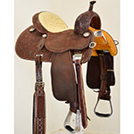 "New! 13.5"" Crown C Barrel Saddle by Martin Saddlery"