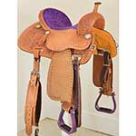 "New! 14"" Crown C Barrel Saddle by Martin Saddlery"