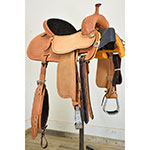 "New! 15"" Crown C Barrel Saddle by Martin Saddlery"