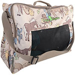 Classic Equine Frontier Print Boot Accessory Tote