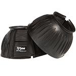Cashel Black Rubber Bell Boot