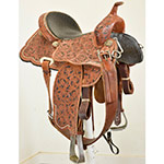 "Used 14"" Cactus Saddlery Barrel Racing Saddle"