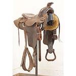 """Used 14"""" CW Oliver Handmade Saddle"""