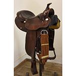 """Used 15.5"""" Circle Y Saddlery Equitation Saddle"""