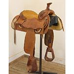 """Used 15.5"""" Scott Saddle Co. Handmade Saddle"""