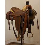 """Used 15.5"""" Simco Roping Saddle"""