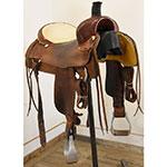"Used 16.5"" Martin Saddlery Team Roping Saddle"