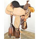"New! 14.5"" Coolhorse Saddles Team Roping Saddle"