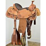 "New! 14"" Coolhorse Saddles Team Roping Saddle"