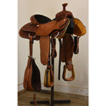 """NEW! 14"""" Coolhorse Team Roping Saddle"""