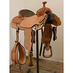 """New! 15.5"""" Coolhorse Team Roping Saddle"""