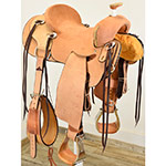 "New! 15"" Coolhorse Saddles Strip Down Ranch Saddle"