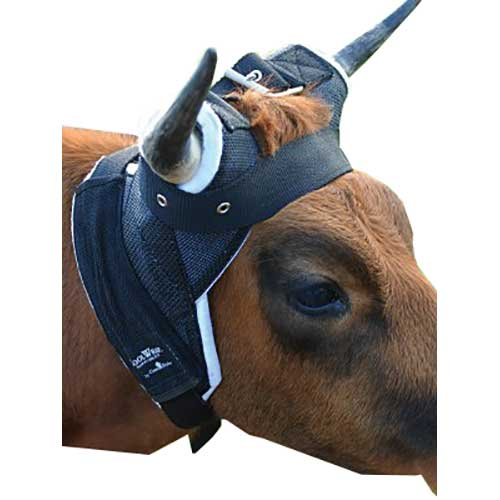 classic equine cool wrap horn wrap for team roping steers black