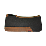"Tod Slone Black 3/4"" Medium Contour Saddle Pad"
