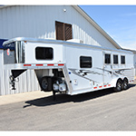 2014 Kiefer 3 Horse Trailer with 8