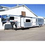 2019 Lakota Stock Combo Living Quarter Horse Trailer 11