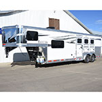 2019 Lakota Charger 3 Horse Trailer with 9