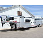 2019 Lakota Charger Stock Combo Horse Trailer with 11