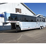2012 Bloomer 3 Horse Trailer with 13.5