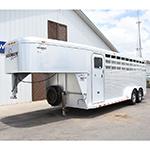 2003 Sooner 4 Horse Stock Combo Trailer