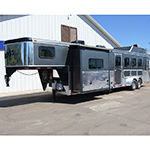 2014 Bison Trail Express 4 Horse Trailer 10