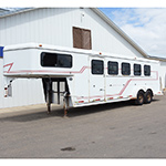 "1999 Circle C 5 Horse Gooseneck Horse Trailer- Selling ""As Is"""