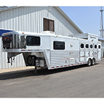 2003 Bloomer 4 Horse Trailer with 12