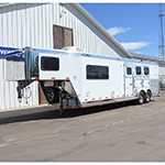 2005 Integrity 3 Horse Trailer with 10