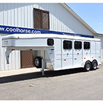 2016 Titan 3 Horse Gooseneck Equine Pro Model