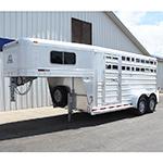 2019 Platinum 3 Horse Stock Combo 7