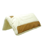"""Cutter Classic Cowboy 2"""" Canvas Pad 34""""x36"""" Saddle Pad for the Working Cowboy"""