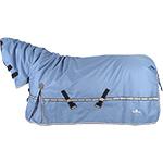 Classic Equine 10K Cross Trainer Hooded Blanket- Denim