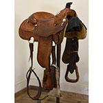 "Used 16"" Trophy Tack Show Saddle"