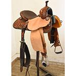 "New! 13"" Stingray Barrel Saddle by Martin Saddlery"