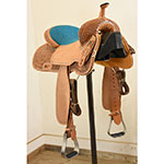 "New! 14"" Circle Y Saddlery Ocala Barrel Saddle"